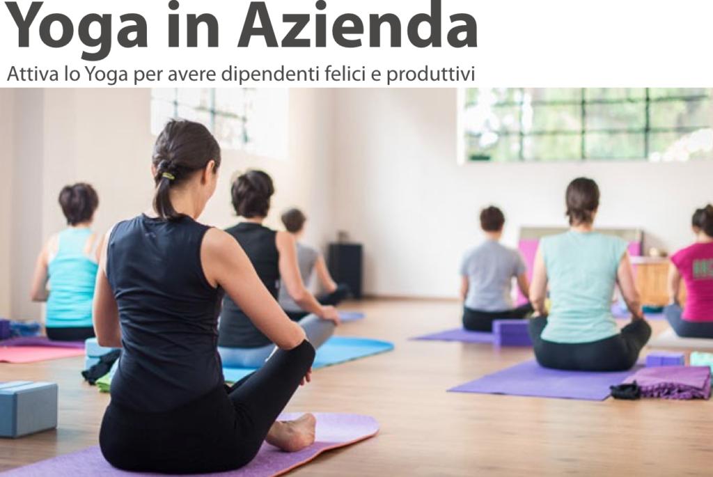 Presentazione Yoga in Azienda
