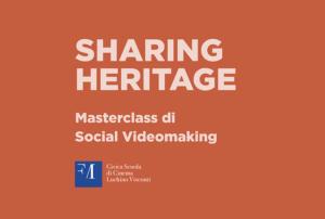 masterclass scuola civica videomaking